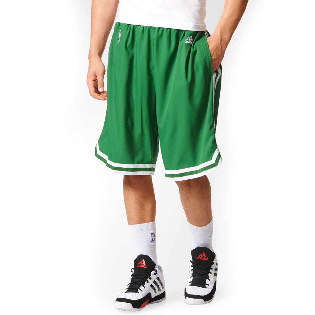BERMUDA ADIDAS NBA CELTICS SS17 GREEN