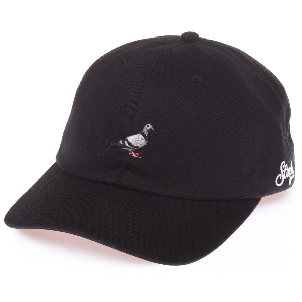 Gorra Staples Pigeon Script Twill Ss17 Black